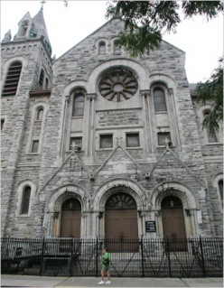 Travel:  NY Churches - East Harlem's Holy Rosary Church