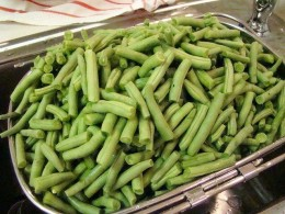 Green Beans Are Easy To Prep And Can. Canning Green Beans Is Easy.