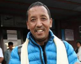 Apa Sherpa summitted Mt. Everest 21 times.