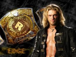 New wwe champion as of last night Edge