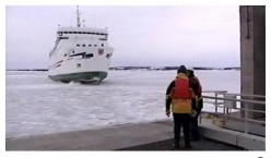 An Icy Winter Crossing to  Prince Edward Island
