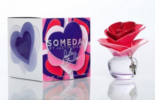Justin Bieber's new fragrance Justin