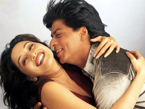 Shahrukh Khan and Madhuri Dixit in Dil To Pagal Hai.