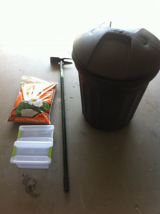 My $30 Composting Kit