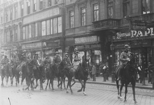 Romanian Cavalry in Budapest