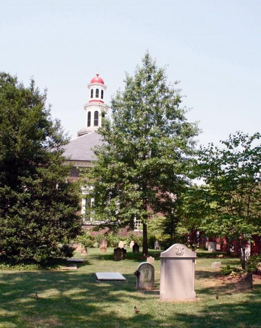 Christ Church from Washington Street