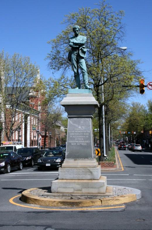 Appomattox: The Confederate Soldier Statue