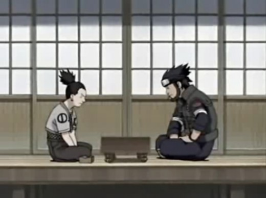 Thinking match with Shikamaru isn't a good idea