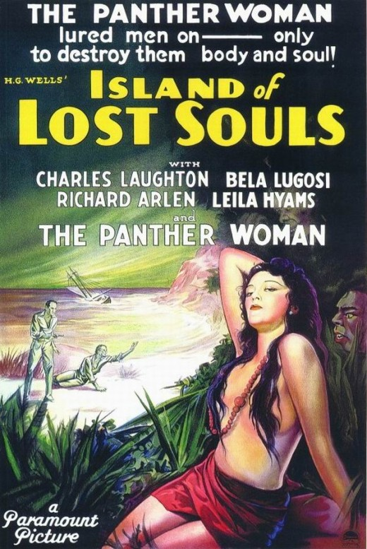 Island of Lost Souls (1933) poster