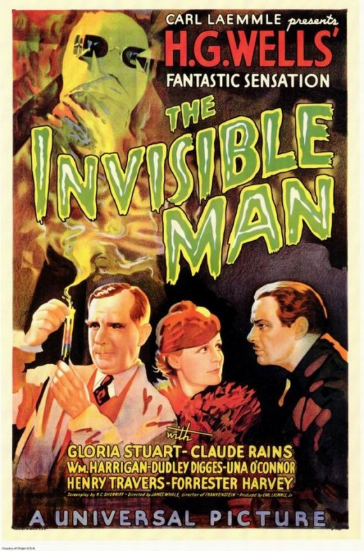 The Invisible Man (1933) poster