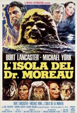 The Island of Dr. Moreau (1977) poster