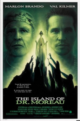 The Island of Dr. Moreau (1996) poster