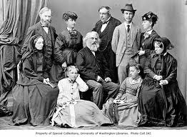 The Longfellow family on their European tour