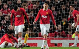 Man United crash out of the Europa League to Bilbao.
