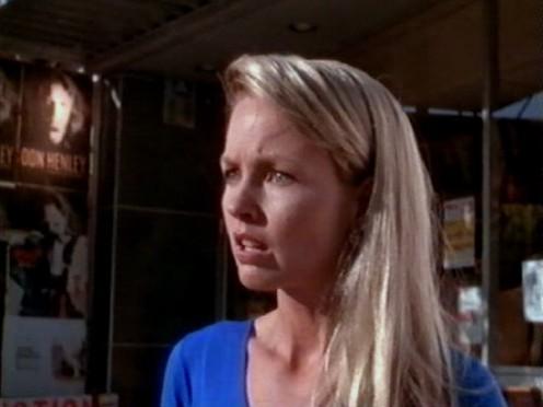 The chronically gorgeous Deborah Foreman plays the chronically unlucky Nancy.