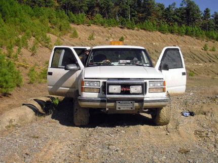 The Jamison Family's abandoned truck.