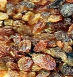 Use either golden or dark raisins in this recipe.