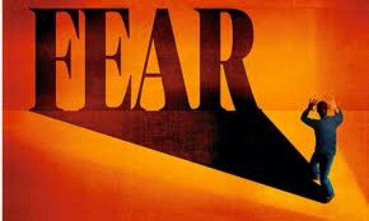 You must become bigger than the fear itself