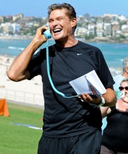 Many celebrities including David Hasselhoff, Lenny Kravitz and Jamie Lee Curtis have been spotted using Moshi Moshi or similar retro handsets.
