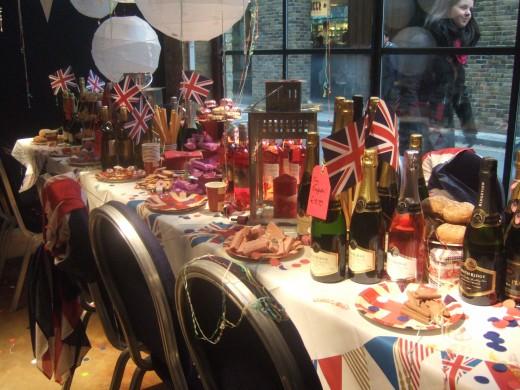 Laithwaites Wine Diamond Jubilee display window.
