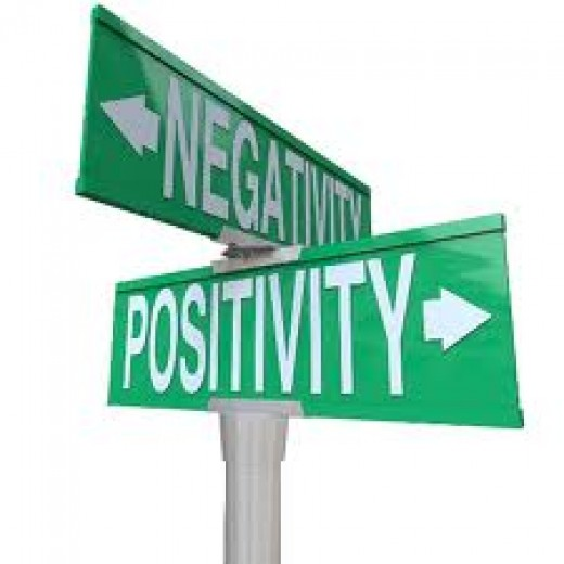 Positive and Negative are directions. Which direction do you choose?