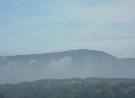 Pendle Hill would have been a familiar sight to the Pendle witches, in wild and remote 17th century Lancashire.