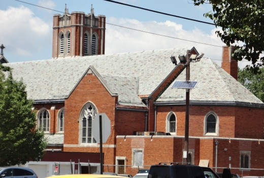 ...and nothing else. (photo of St. John the Evangelist Church, Bergenfield, NJ)