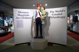 Shriners are best known for their children's hospitals around the world