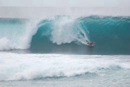 … to get  to the Pro Body Boarding World Championships
