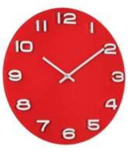 Image credit: http://www.comparestoreprices.co.uk/wall-clocks/unbranded-red-glass-wall-clock