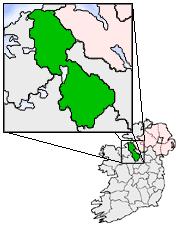 Map location of Co. Leitrim, Ireland