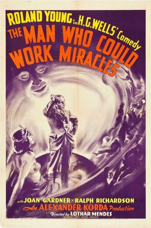 The Man Who Could Work Miracles (1936) poster
