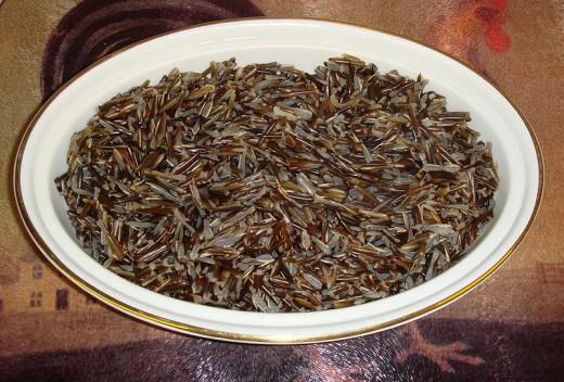 Photo: Cooked Wild Rice