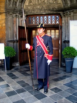 Beadle (or Swiss guard) of Tongeren Basilica