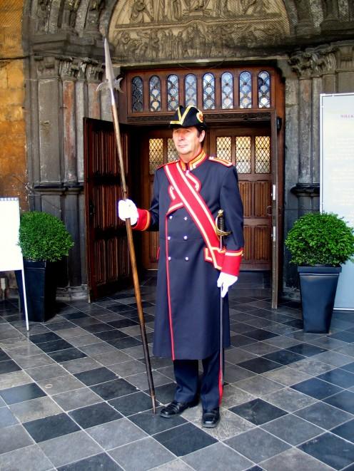 Beadle (or Swiss guard) of Tongeren Basilica