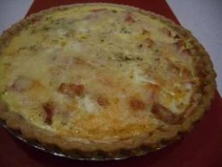 Homemade Quiche Pie Recipe, Turkey Meat Pie Recipe