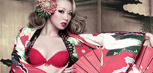 "Kumi Koda promoting her 10th studio album, ""JAPONESQUE""."