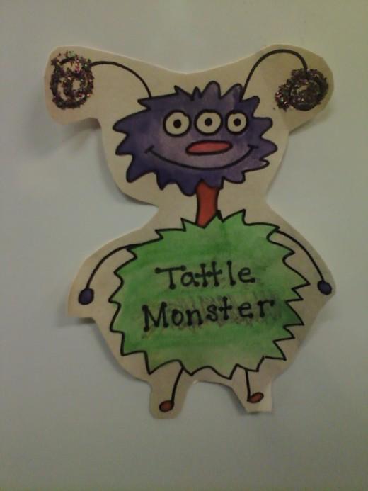 """""""Momma Tattle Monster"""""""