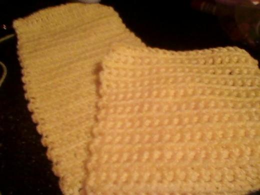 Ridged scarf