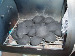charcoal brickettes