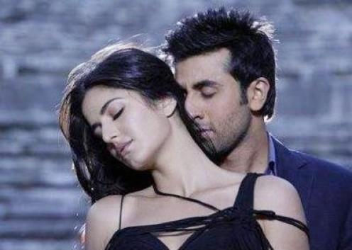 Katrina Kaif and Ranbir Kapoor in Ajab Prem Ki Ghazab Kahani.