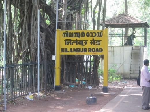 Nilambur Name board
