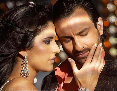 Katrina Kaif and Saif Ali Khan in Race.