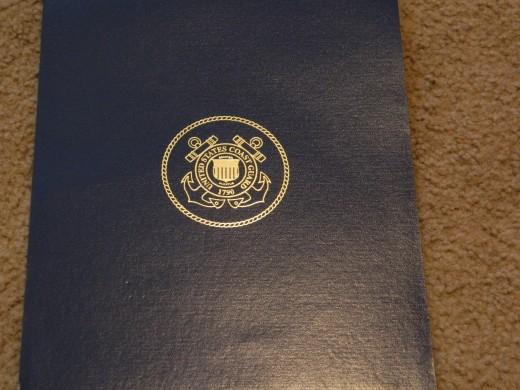 Folder Holding Paper Award