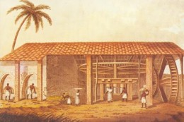 A typical Brazilian engenho in the seventeenth century..