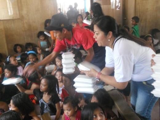 Kids Feeding time...