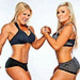 "The typical attraction: Two hot blondes in a wrestling ""cat fight."" It make not be politically-correct, but it sells tickets."