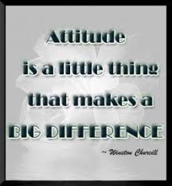 Your Attitude Determines Your Altitude