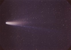 When will Halley's comet next be seen?