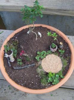 Miniature Fairy Garden Tutorial